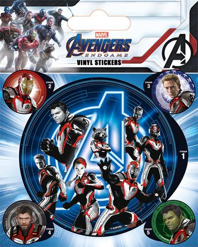 Набор стикеров «Мстители: Финал» (Avengers: Endgame)