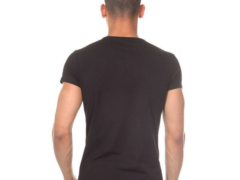 Футболка мужская черная DARKZONE DZN8501
