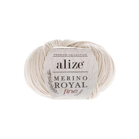 Alize Merino Royal Fine слоновая кость 67