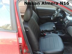 Чехлы на Nissan Almera N16 2000–2006 г.в.