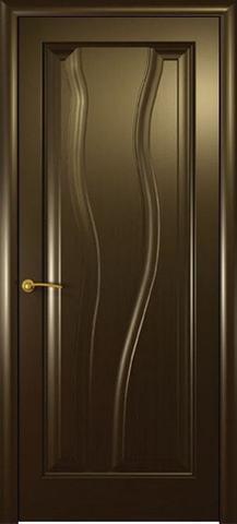 Дверь Гольфстрим new (венге, глухая шпонированная), фабрика Океан