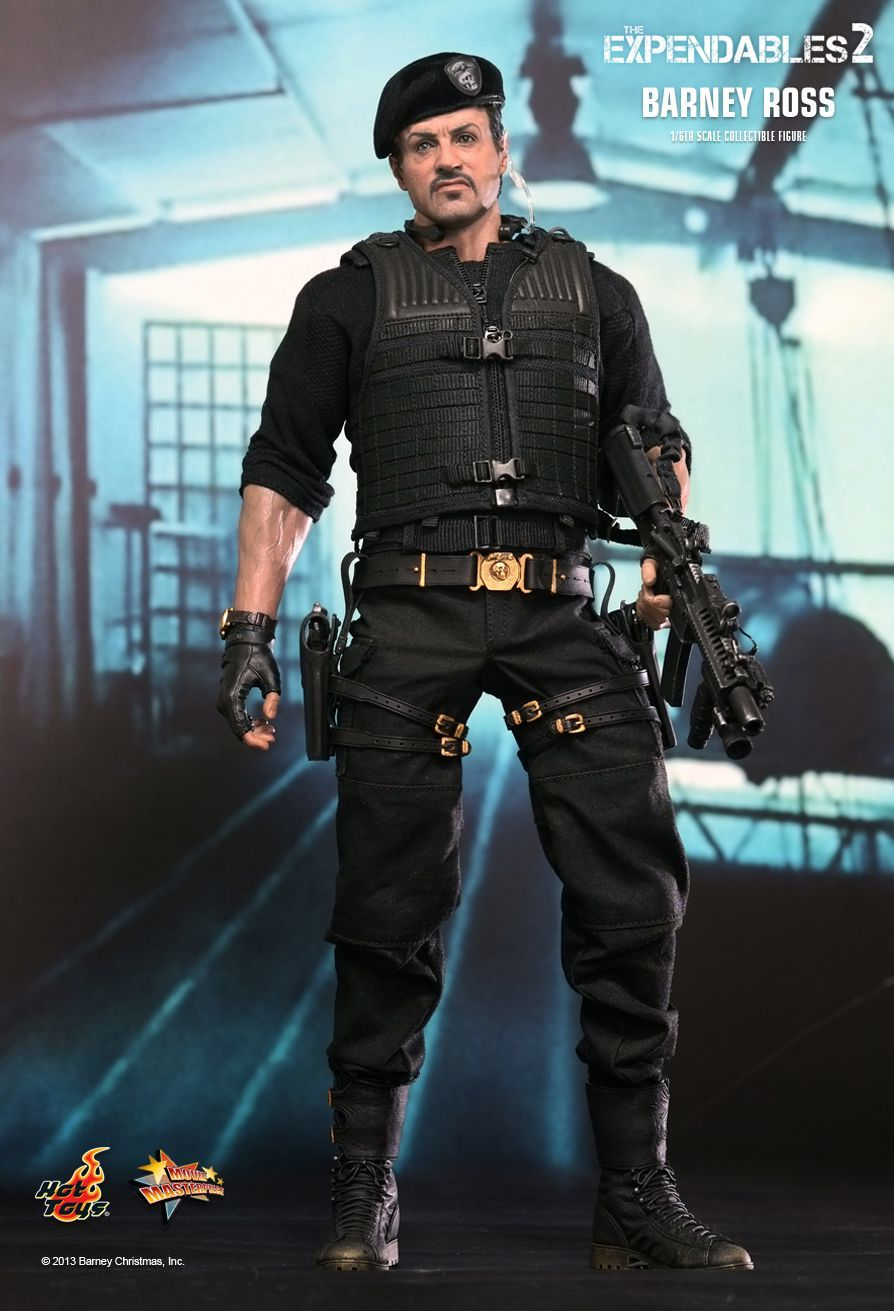 The Expendables 2 - Barney Ross Movie Masterpiece