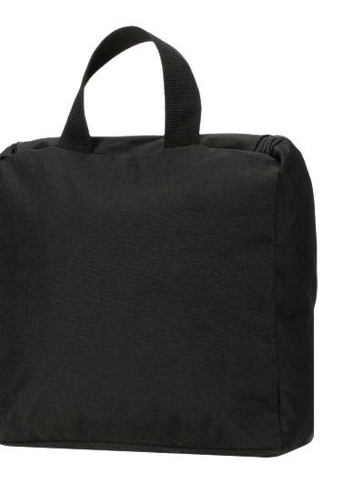 Несессер WENGER, 24х22х8 см., цвет чёрный (608510)