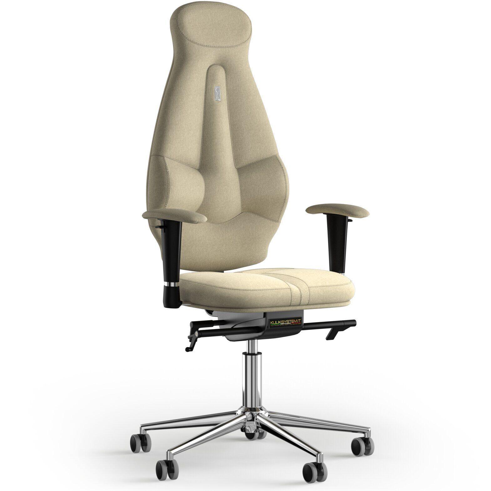 Кресло KULIK SYSTEM GALAXY Ткань с подголовником без строчки