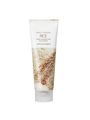 Очищающая пенка с рисом, HOLIKA HOLIKA, Daily Garden Rice Bright cleansing foam from Icheon 120мл