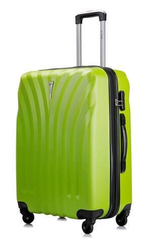 Чемодан с расширением L'case Phuket-24 Зеленый (M+)