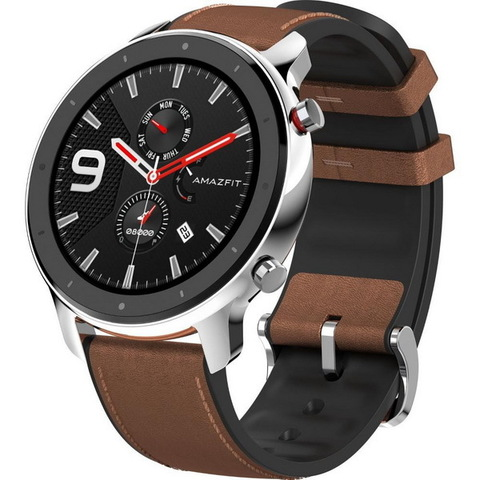 Смарт-часы Amazfit GTR 47mm Stainless Steel EU (A1902)
