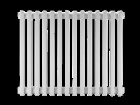Стальной трубчатый радиатор DiaNorm Delta Complet 2050, 28 секций, подкл. VLO, прозрачная сталь