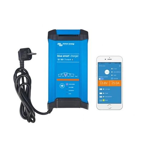 Зарядное устройство на 1, 2 или 3 АКБ , Blue Smart IP22 Charger 12/30(3) 30А