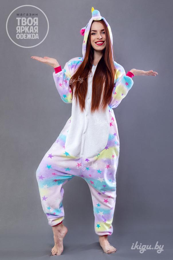 Пижамы кигуруми Звездный Единорог unicorn_stars.jpg