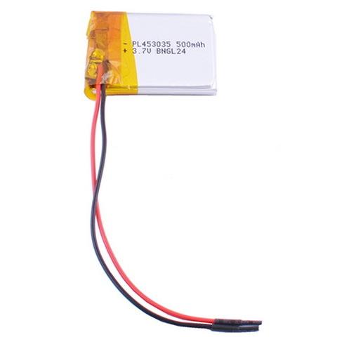 Аккумуляторы литий-полимерный 453035, 500mAh, 3.7V