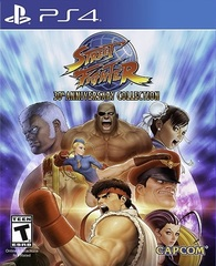 PS4 Street Fighter 30th Anniversary Collection (русская документация)