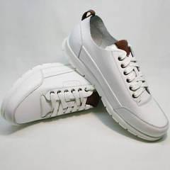 Летние кроссовки мужские белые Faber 193909-3 White.