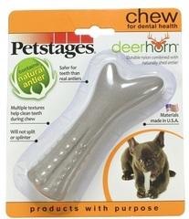 Игрушка для собак Petstages Deerhorn, с оленьими рогами 12 см маленькая