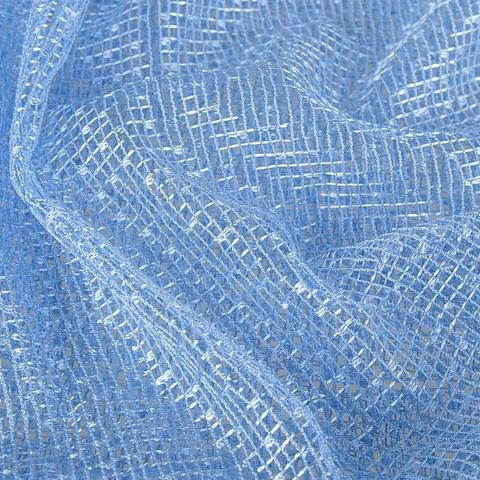 Ткань сетка - Голубая. Арт. W2009 C17