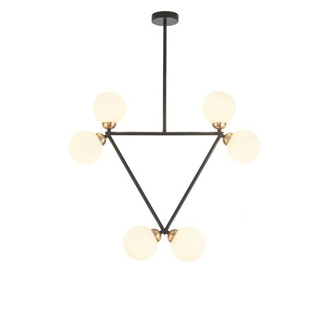 Потолочный светильник копия Triangle by Atelier Areti (черный)