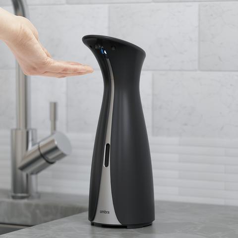 Диспенсер для мыла сенсорный Otto большой черный