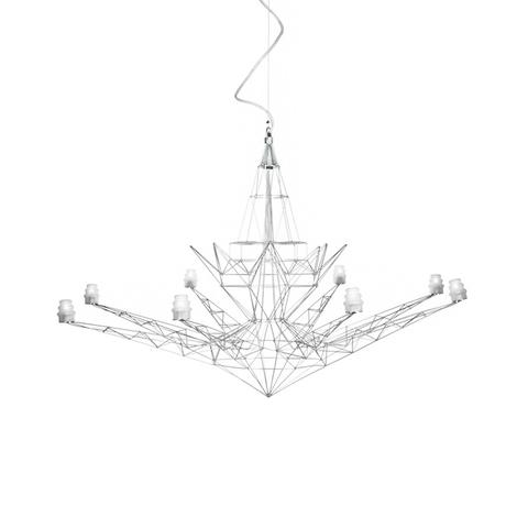 Подвесной светильник копия Lightweight by Foscarini (хром)