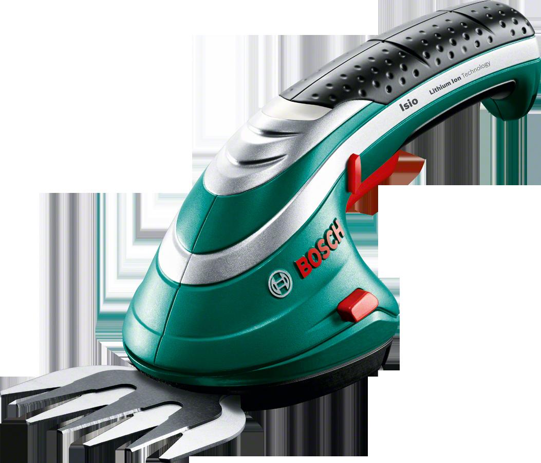 Аккумуляторные ножницы Bosch для травы Isio 3