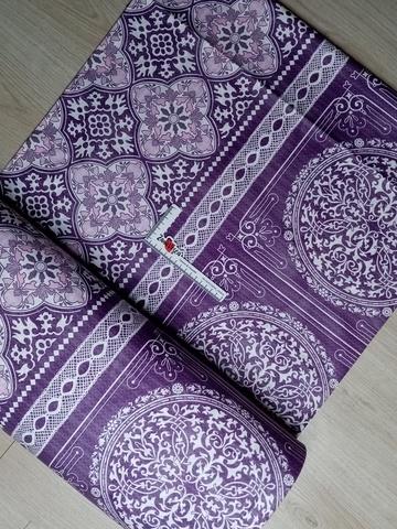 Премиум ранфорс Марокканская Майолика фиолетовый
