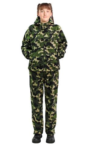 Костюм детский Флисовый зелёный НАТО