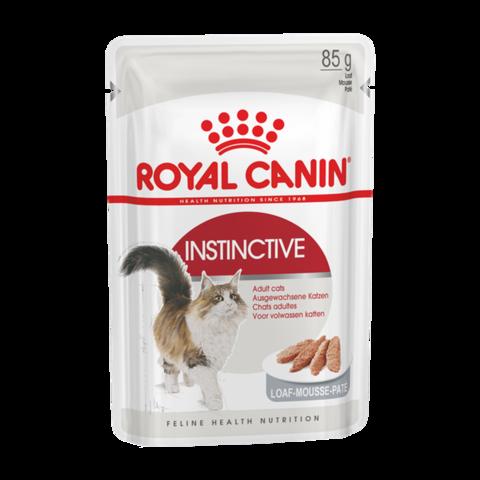 Royal Canin Instinctive Консервы для взрослых кошек Паштет (Пауч)