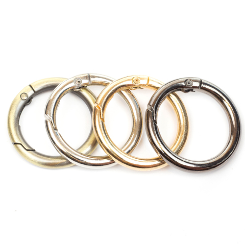 Карабин-кольцо 25мм  (цвет на выбор)
