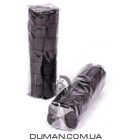Натуральный кокосовый уголь для кальяна Tom Cococha Silver 3/3 (Том Кокоча) |250 гр 15шт 50*27мм под калауд