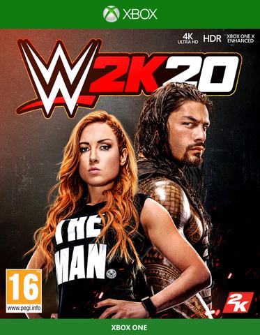Xbox One WWE 2K20 (английская версия)