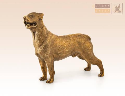 статуэтка Собака Ротвейлер