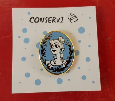 Значок-пин «Дора» от Ани Conservi