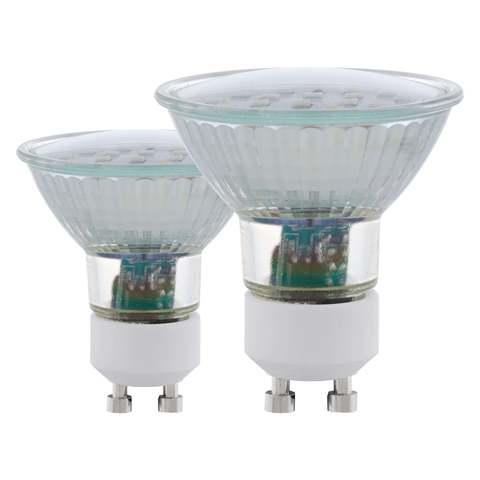 Лампа (комплект 2 шт.) Eglo LED LM-LED-GU10 2х5W 400Lm 4000K  11539