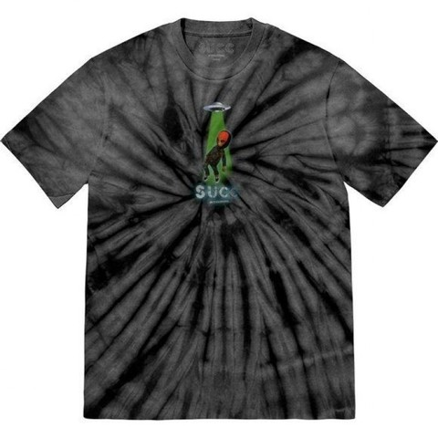 Футболка SUCC INTL. Abduction (Black Tie-Dye)