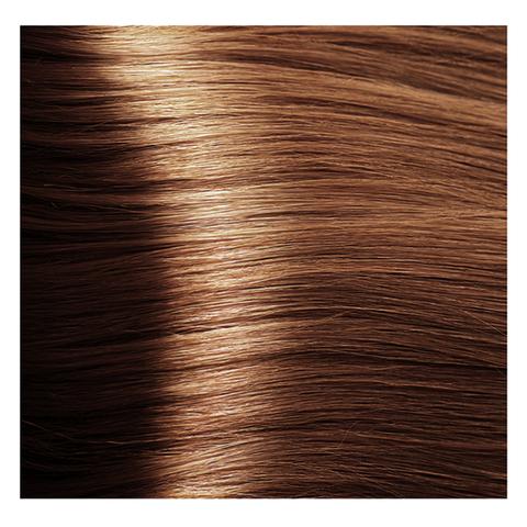Крем краска для волос с гиалуроновой кислотой Kapous, 100 мл - HY 7.4 Блондин медный