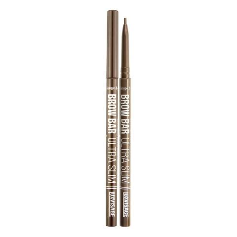 LuxVisage Brow Bar ultra slim Механический карандаш для бровей тон 301 (Taupe)
