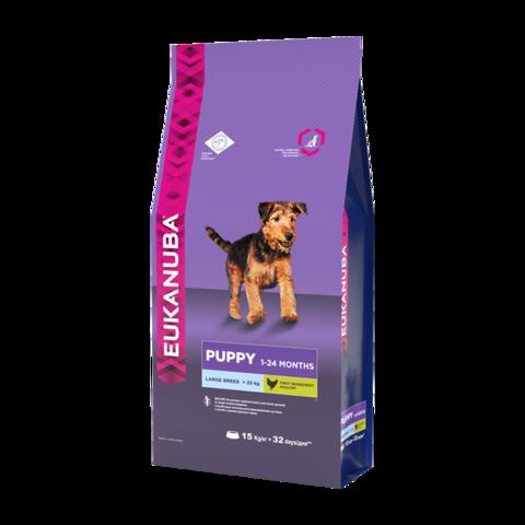 Eukanuba Puppy Large Breed Сухой корм для щенков крупных пород
