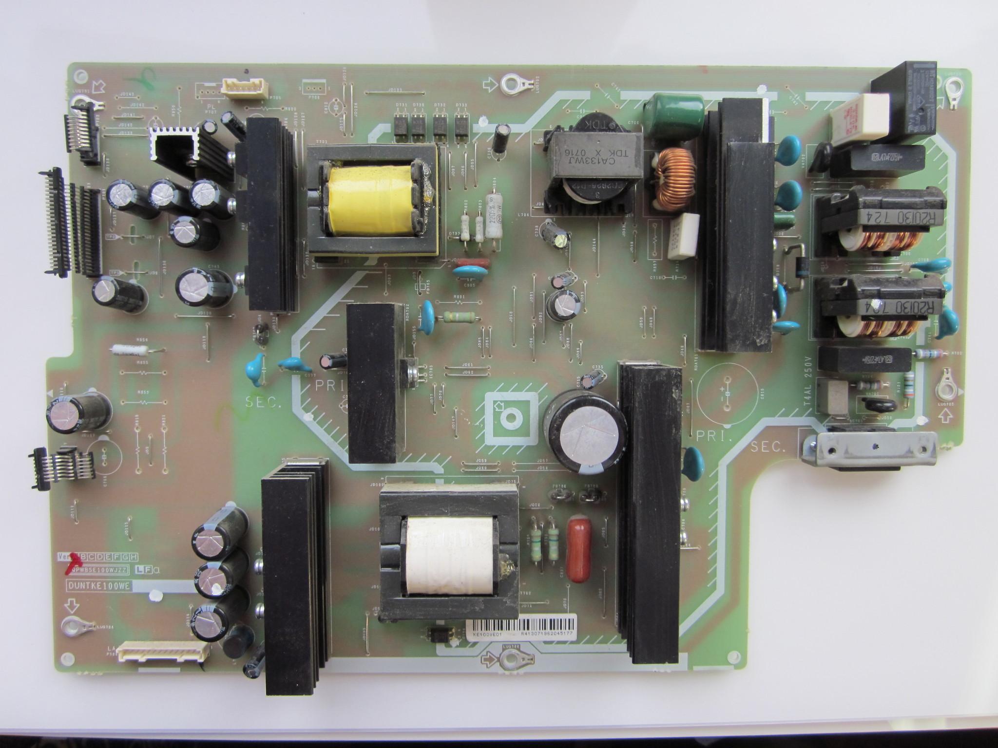 Блок питания SHARP LC-37RD2RU DUNTKE100WE