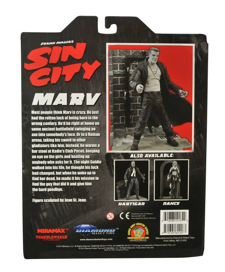 Марвел Селект Город Грехов фигурка Марв — Marvel Select Sin City Marv