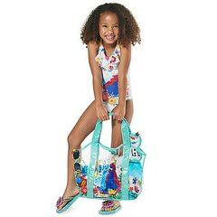 Пляжная сумка для девочки Холодное сердце