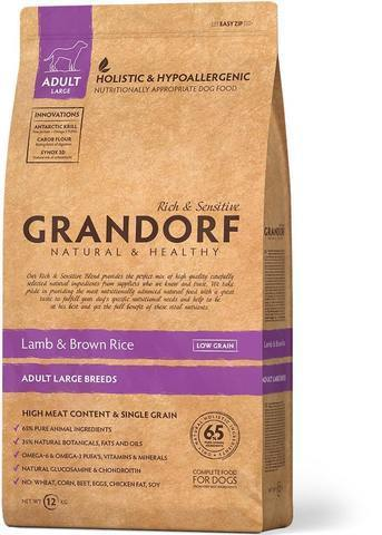 Grandorf Lamb & Brown Rice Adult Large Breeds