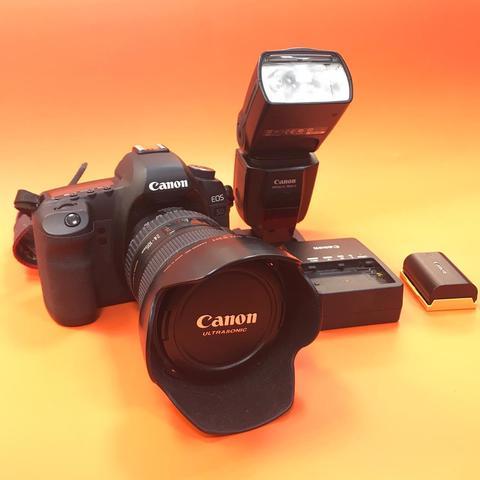 Caonon 5D mark II kit 24-105 + вспышка EX 580 II Комиссия