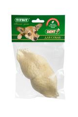 Лакомство для собак TitBit Губы говяжьи 1 (мягкая упаковка)