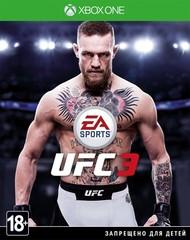Xbox One UFC 3 EA Sports (русские субтитры)