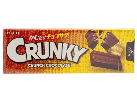 Шоколад Кранки хрустящий 10 шт., Lotte, 33 гр.