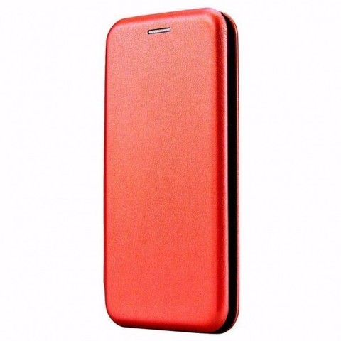 Чехол-книжка Fashion Case для Xiaomi Redmi Note 9S, красный