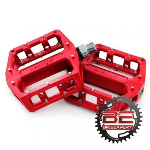 Педали Wellgo В087-B красные