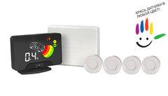 Парктроник AAALine LCD-14 White