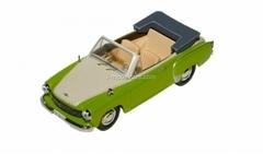 Wartburg 311 Cabrio green-white 1959 IST004 IST Models 1:43