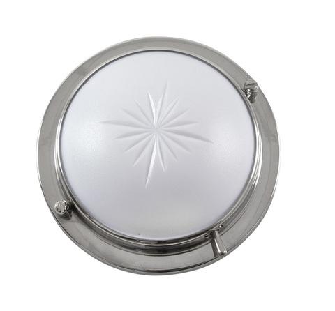 Светильник интерьерный, нержавеющий, белый, 4