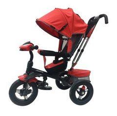 Велосипед Moby Kids Comfort 360° 12x10 AIR Красный (641067)